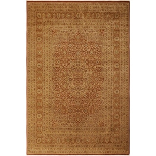 Antique Vegtable Dye  Nell Rust/Rust Wool Rug (9'2 x 12'2) - 9 ft. 2 in. x 12 ft. 2 in.