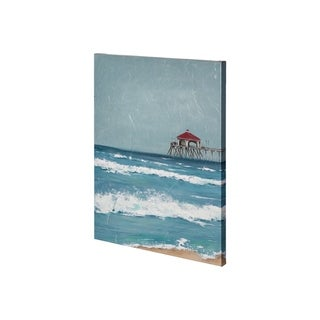 Mercana Fishing Pier I (27 x 36) Made to Order Canvas Art