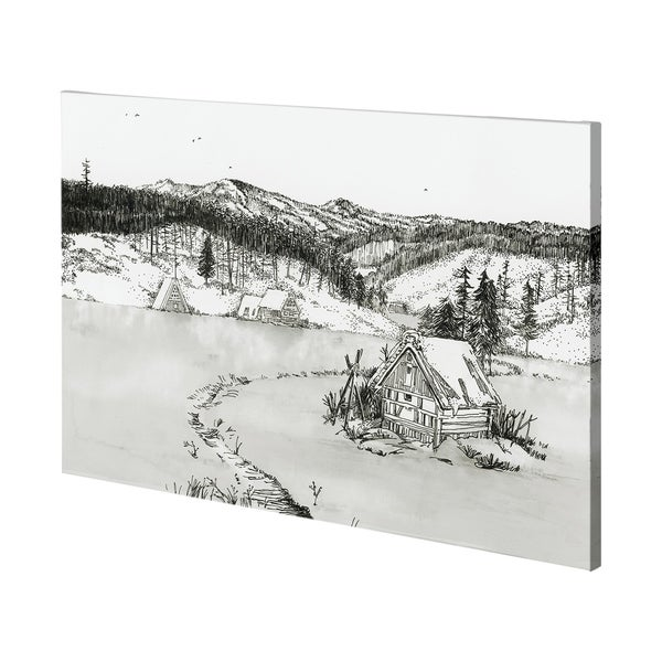 Mercana SnowyPlain II (60 x 38) Made to Order Canvas Art