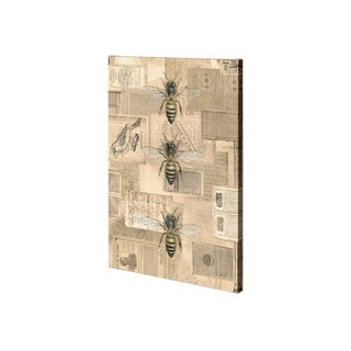 Mercana Academic Bee Illustration (28 x 42) Made to Order Canvas Art