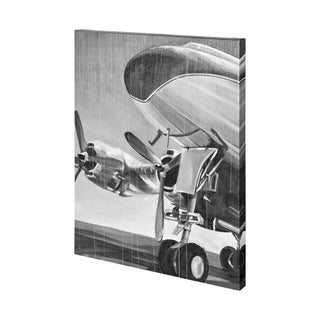 Mercana Aviation Icon II (41 x 54) Made to Order Canvas Art