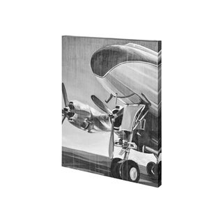 Mercana Aviation Icon II (30 x 38) Made to Order Canvas Art