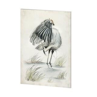 Mercana Blue Heron (36 x 48) Made to Order Canvas Art
