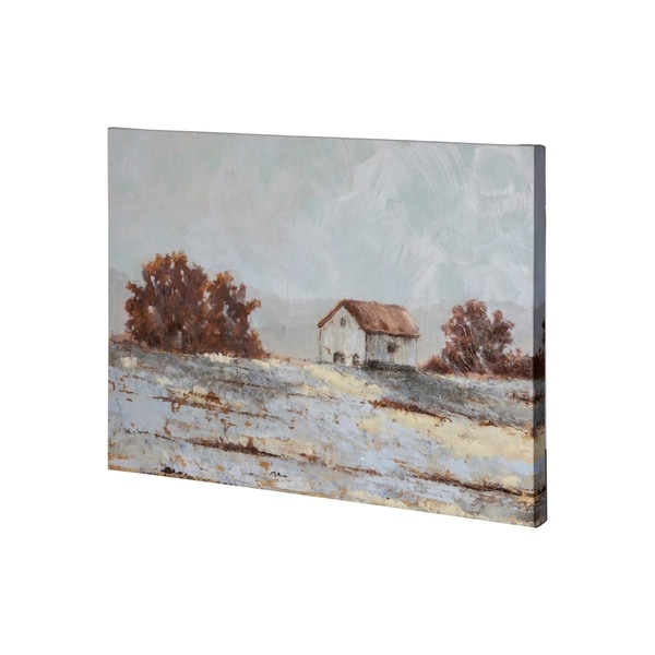 Mercana Snow Covered Hillside II (36 x 27) Made to Order Canvas Art
