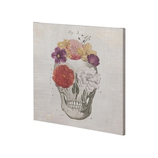 Mercana Floral Skull I (30 x 30) Made to Order Canvas Art