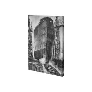 Mercana Steamer II (26 x 38) Made to Order Canvas Art