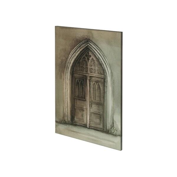 Mercana Door II (28 x 42) Made to Order Canvas Art