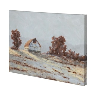Mercana Snow Covered Hillside I (48 x 35) Made to Order Canvas Art