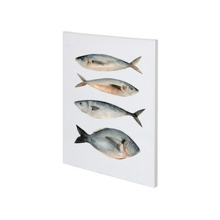 Mercana Four Fish I (27 x 36) Made to Order Canvas Art