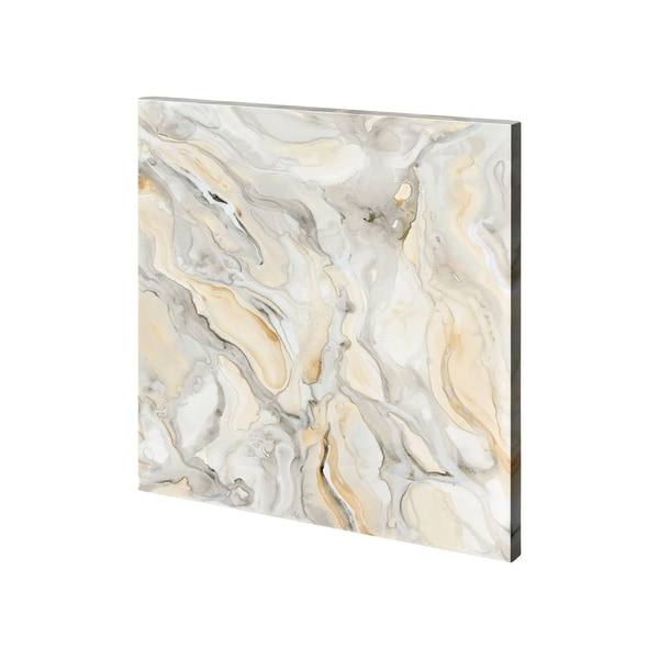 Mercana Alabaster IV (30 x 30) Made to Order Canvas Art