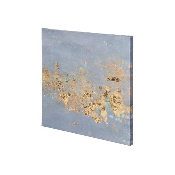 Mercana Concrete Gold 3 (30 x 30) Made to Order Canvas Art
