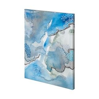 Mercana Subtle Blues I-3648 (36 x 48) Made to Order Canvas Art