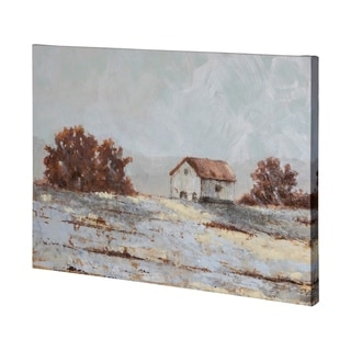 Mercana Snow Covered Hillside II (48 x 35) Made to Order Canvas Art