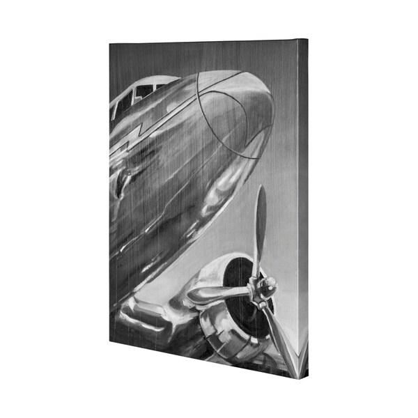 Mercana Aviation Icon I (41 x 54) Made to Order Canvas Art