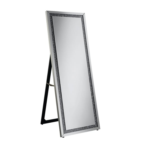 00e954587f262e Shop Silver Orchid Bech Silver Rectangular Cheval Floor Mirror - Free  Shipping Today - Overstock - 25775726