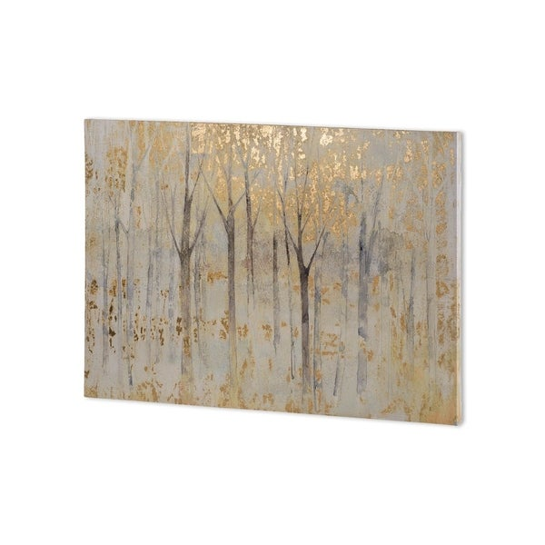 Mercana Seasons End Gold Dark (34 x 30 ) Made to Order Canvas Art