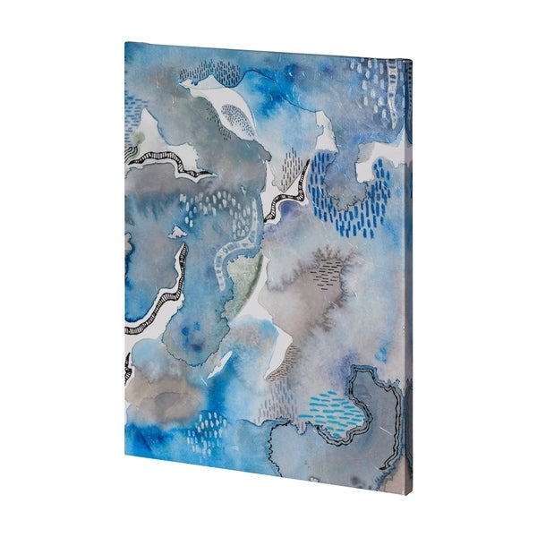 Mercana Subtle Blues II-3648 (36 x 48) Made to Order Canvas Art