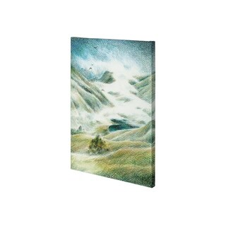 Mercana Foggy Valley II (26 x 38) Made to Order Canvas Art