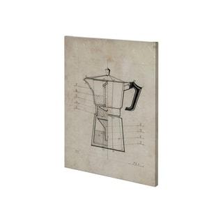 Mercana Coffee Friends II (27 x 36) Made to Order Canvas Art