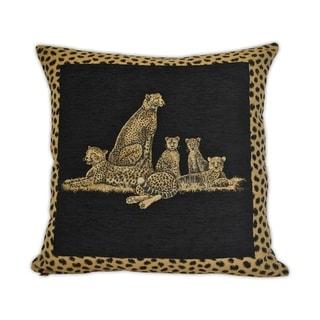 Sherry Kline Cheetah Dynasty 22-inch Decorative Pillow