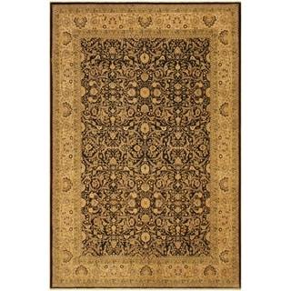 Istanbul Georgett Brown/Tan Wool Rug (9'2 x 11'9) - 9 ft. 2 in. x 11 ft. 9 in.