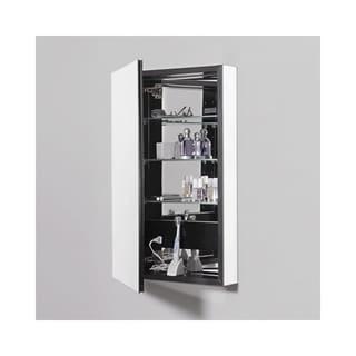 Robern Pl Series 2 Door Flat Medicine Cabinet PLM2430G Tinted Gray - Grey