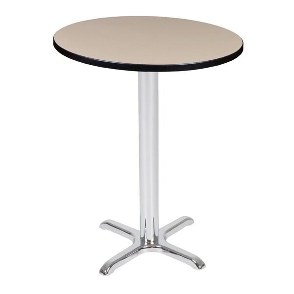 Via Cafe High Round X-Base Table