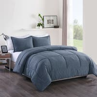 Messy Bed Washed Cotton Comforter Mini Set