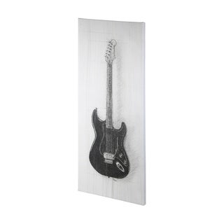 Mercana Guitar I (32 x 72) Made to Order Canvas Art