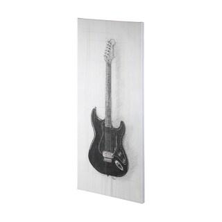 Mercana Guitar I (32 x 72) Made to Order Canvas Art