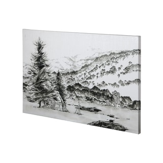 Mercana SnowyPlain I (42 x 28) Made to Order Canvas Art