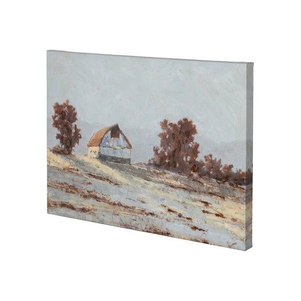 Mercana Snow Covered Hillside I (36 x 27) Made to Order Canvas Art