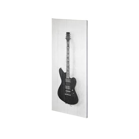 Mercana Guitar II (20 x 44) Made to Order Canvas Art