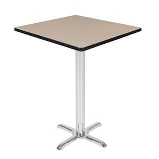 Via Cafe High Square X-Base Table