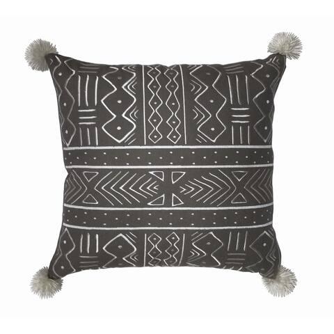 Kata African Mud Cloth inspired Decorative Throw Pillow