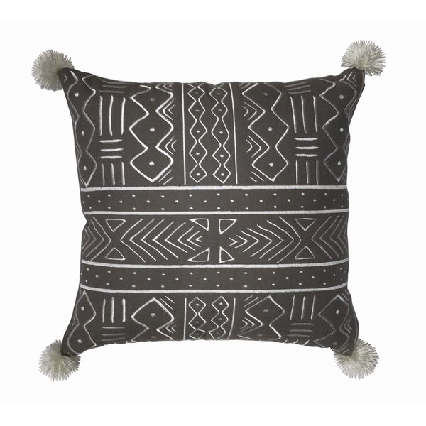 Kata African Mud Cloth inspired Decorative Throw Pillow