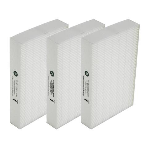 Filter-Monster True HEPA Replacement for Honeywell Filter R (HRF-R3), 3 Pack - White