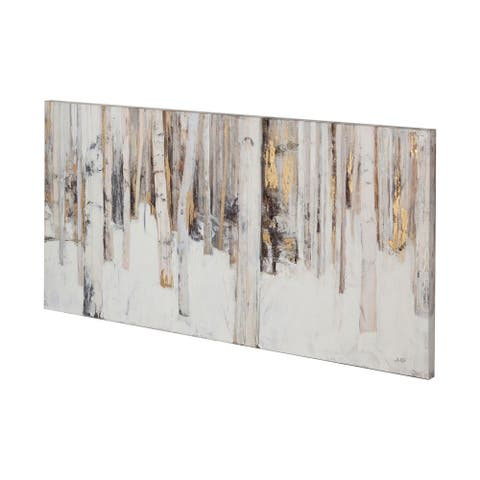 Mercana Warm Winter Light II (60 x 30) Made to Order Canvas Art