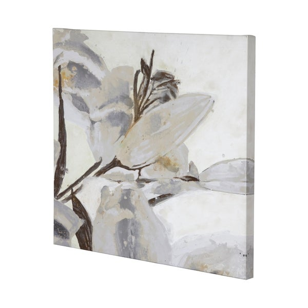 Mercana Blooming Opalescent I (41 x 41) Made to Order Canvas Art