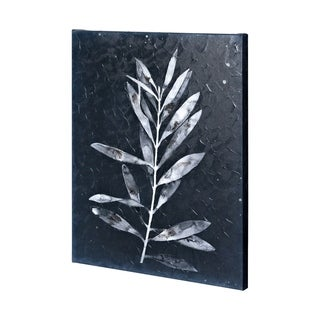 Mercana Midnight Leaves I (40 x 50) Made to Order Canvas Art