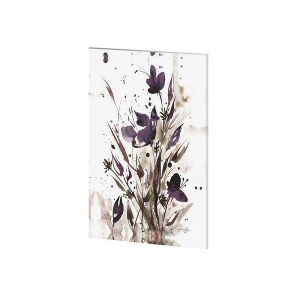 Mercana Floral Music I (28 x 42) Made to Order Canvas Art