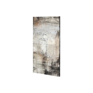 Mercana Blk Wht Bronze II (22 x 44) Made to Order Canvas Art