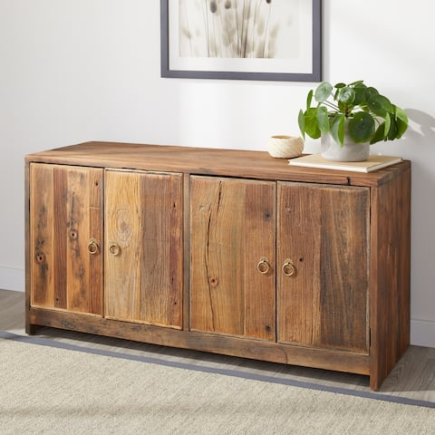 Carbon Loft Reclaimed Rustic Sofa Table