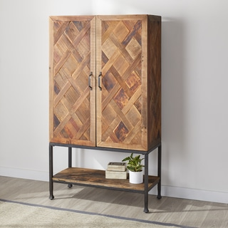 Carbon Loft Reclaimed 2-door 68-inch Cabinet