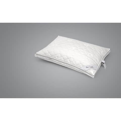 Enchante Home Luxury Cotton Queen Pillow - Medium - White