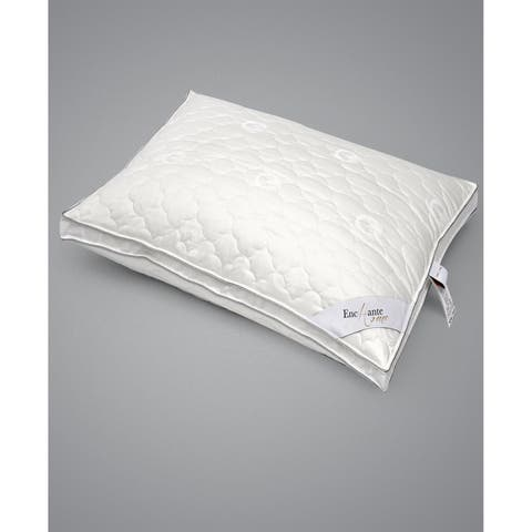 Enchante Home Luxury Cotton Queen Pillow - Firm