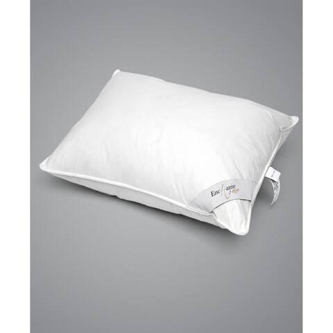 Enchante Home Luxury Goose Down Queen Pillow - Firm - White
