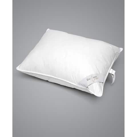 Enchante Home Luxury Goose Down Queen Pillow - Medium