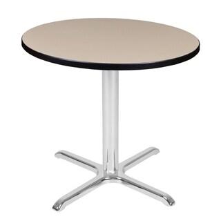 Via Round X-Base Table