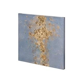Mercana Concrete Gold 1 (30 x 30) Made to Order Canvas Art